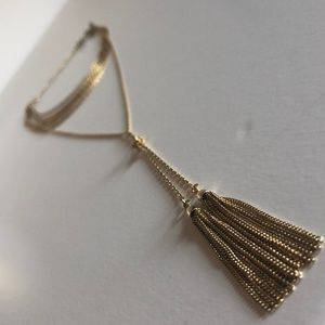 Convertible gold necklace
